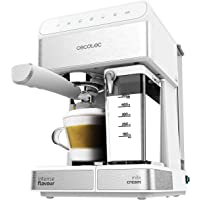 Cecotec Machine à café Semi-Automatique Power Instant-ccino 20 Touch Serie Bianca. 20 Bars de Pression, 1.4 L, 6…