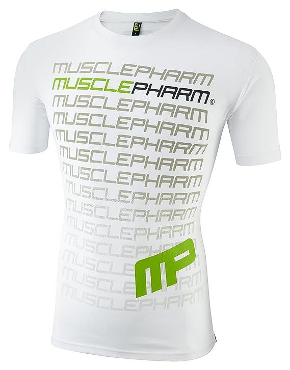 Muscle Pharm Herren Textilbekleidung Printed TSHT: Amazon.de: Sport &  Freizeit