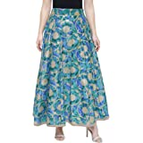 DAMEN MODE Women Royal Silk Skirt