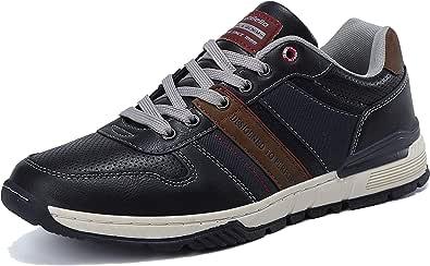 ARRIGO BELLO Sneakers Uomo Scarpe da Ginnastica Eleganti Casual Sportive Trekking Traspiranti Interior all'Aperto Taglia 41-46