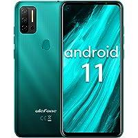 "Smartphone ohne vertrag Helio P60 Octa-Core, Ulefone Note 11P Android 11 Handy 6,55"", 8GB+128GB, 4400mAh, 48MP+8MP…"