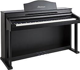 Blüthner e-Klavier Modell 1 Lack satiniert schwarz