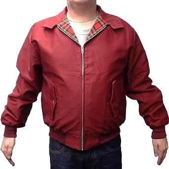 mazeys Mens Classic Harrington Jackets