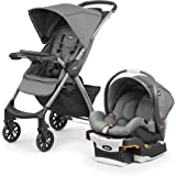 Chicco Mini Bravo Plus Baby Travel System Stroller 0m-3y, Slate
