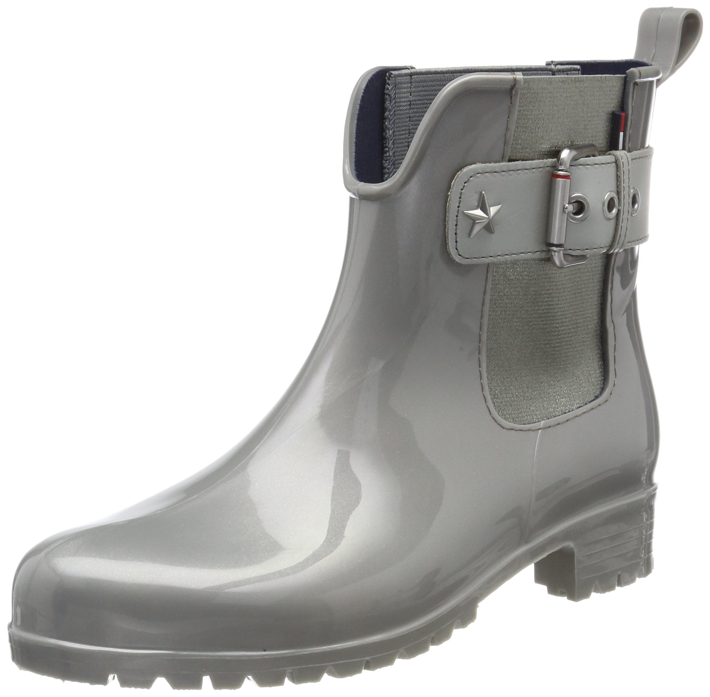 057d8c7720a2b8 Tommy Hilfiger Women s Material Mix Rain Boot Wellington Boots. Tommy  Hilfiger Women s O1285XLEY 14 V3 Wellies