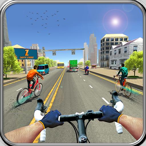 Bicicletta Quad Stunts Racer