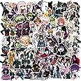 NEITWAY Danganronpa Laptop Stickers Pack van 100 stuks, Japan Anime Stickers Unieke Coole Stickers Water Fles Notebook Gitaar