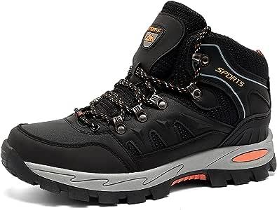 Scarpe Trekking Uomo Traspiranti Scarpe da Escursionismo Basse Leggere Sneakers Lacci All'Aperto Montagna Invernali Nero Blu Verde Marrone Taglia 36-48