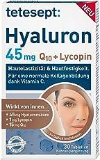 Tetesept Hyaluron 45 mg Lycopin plus Q10, 30 Stück