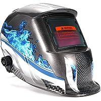 AEUWIER Masque de Soudage, Casque Intégral de soudage à Arc Automatique Anti-éclaboussure, Masque de Soudage Electrique…