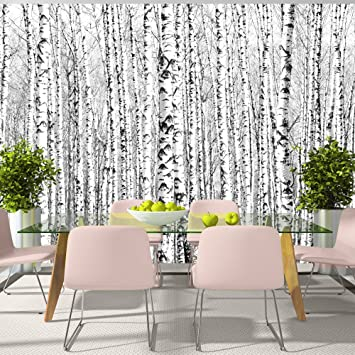 Moderne tapete schwarz  murando - Fototapete 350x245 cm - Vlies Tapete - Moderne Wanddeko ...