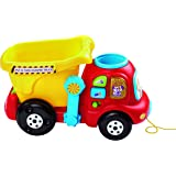 VTech Put and Take Dumper Truck, Baby Interactive Toys for Toddlers, Compatible with Toot-Toot Cars, Dumping Truck for…