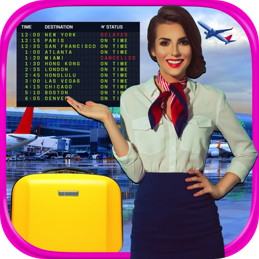 Real Airport Flight Attendant Simulator