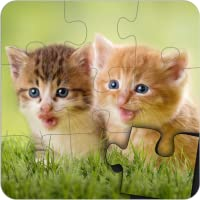 Fun Cats & Dogs Jigsaw Puzzles for kids and toddlers  - Free Edition - Fun and Educational Jigsaw Puzzle Game for Kids and Preschool Toddlers, Boys and Girls 2, 3, 4, or 5 Years Old