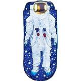 Worlds Apart Boys I am Astronaut Junior-ReadyBed – sovsäck för barn och luftsäng i ett, blå, 75 x 75 x 90 cm