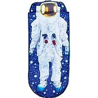 Worlds Apart Je suis un astronaute - Lit junior ReadyBed - lit d'appoint pour enfants avec couette intégrée, Bleu