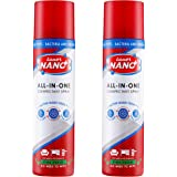 Luxor Nano All-in-One Disinfectant Spray, Pine Fresh – Pack of 2 (440 ml)
