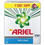 Ariel Matic Top Load Detergent Washing Powder - 3 kg (Rupees 130 Off)