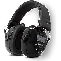 ION Audio Tough Sounds 2 – Noise Cancelling Bluetooth Kopfhörer, lärmreduzierend, wetterfest, batteriebetrieben, 20 Std…