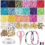 Ismadistri, parelset, elastische armband, voor het maken van kindersieraden, Heishi-parels, sieradenset, mode-accessoires, oo
