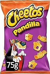 Cheetos Pandilla Producto de Aperitivo Frito, Queso, 75g