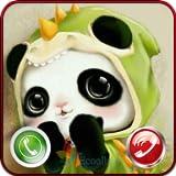 Cute Panda Calling