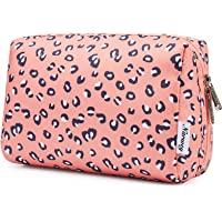 Grande organizzatore cosmetico di viaggio della borsa della chiusura lampo del sacchetto di trucco per le donne
