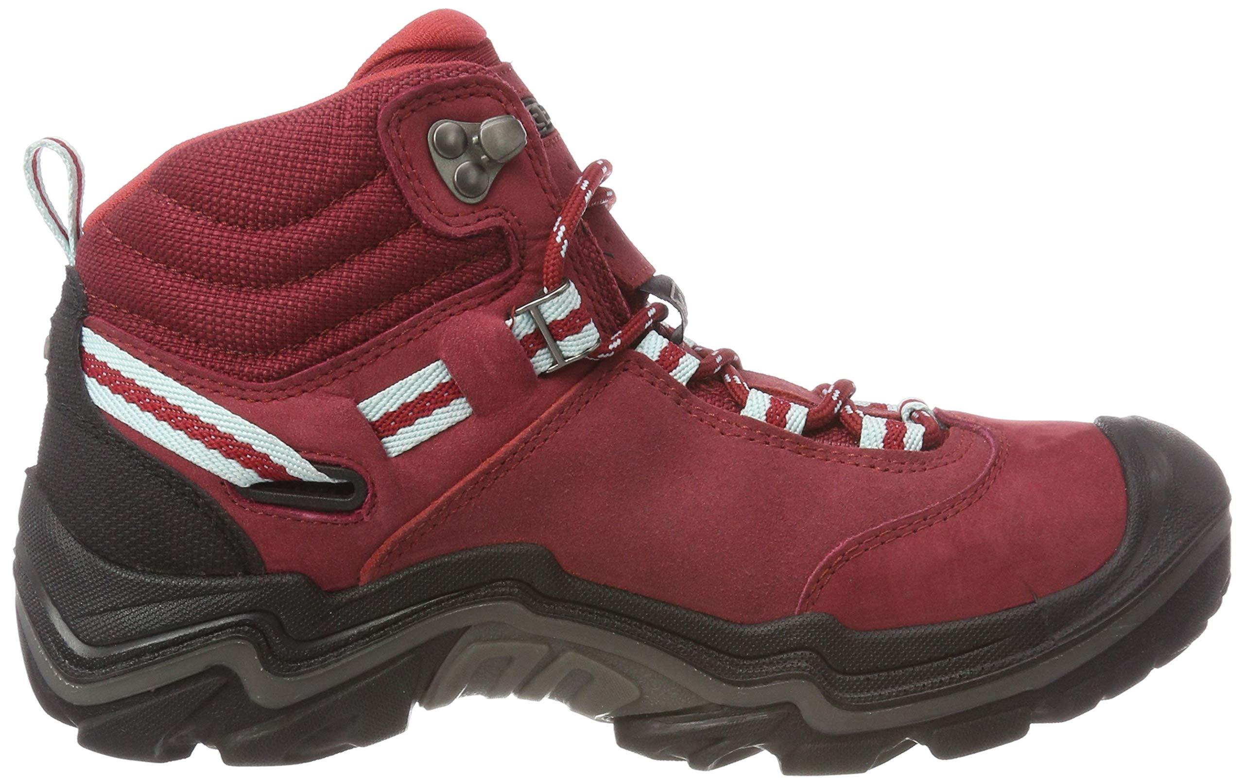 KEEN Women's Wanderer Waterproof Mid High Rise Hiking Shoes, 8.5 UK 6