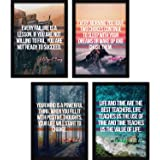 FATMUG Synthetic Quote Wall Painting, Multicolour, A3