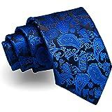 Mexx schmale Seidenkrawatte Seide flieder lila Paisley-Muster Krawatte Seide Tie