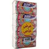 Zeina Set OF 4 Bags, 550 Tissues - Multi Color