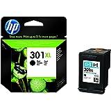 HP 301XL Schwarz Original Druckerpatrone mit hoher Reichweite für HP Deskjet 1000, 1010, 3000, 1050, 1050A, 1510, 2050, 2050A, 2510, 2540, 3050, 3050A, 3055A; HP Officejet 2620, 4630