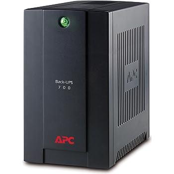 APC Back-UPS BX - Gruppo di continuità (UPS) Potenza 700VA, BX700UI - AVR, 4 Uscite IEC-C13, USB, Shutdown Software