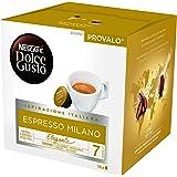 Nescafé Dolce Gusto Espresso Milano - Café - 48 Capsules (Pack de 3 Boîtes x 16) 3X112g