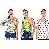 JUNEBERRY Women's T-Shirt-Pack of 3