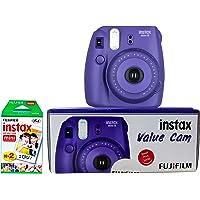 Fujifilm Instax Value Cam Mini 8 with 20 Films Shot (Grape)