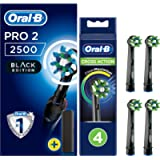 Oral-B Pro 2 2500 CrossAction Electric Toothbrush Rechargeable Powered by Braun, 1 Handle, 2 Modes Including Gum Care, 1…