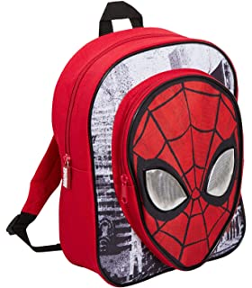 UK 3D Spiderman School Bag Backpack Large Capacity For Boys Kids Children Gifts