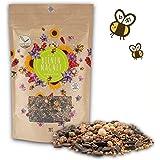 200g Semillas de flores de pradera para un colorido pasto de abejas - mezcla de semillas de flores silvestres ricas en néctar