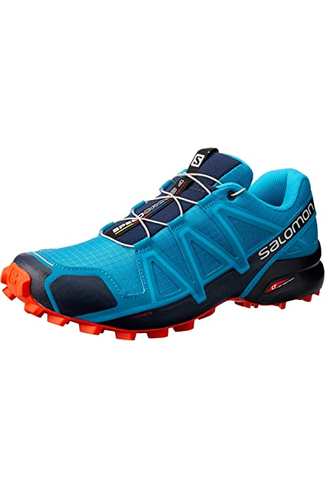 Salomon Damen Speedcross 4' Traillaufschuhe, Blau (Blue Jay