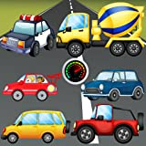 Rompecabezas para niños - Vehículos, coches y camiones ! Juegos educativos rompecabezas - Juegos gratis