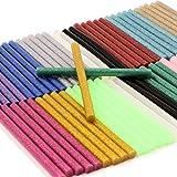 Lijmsticks, verf smeltlijmstiften voor doe-het-zelf kunsthandwerk afdichting en snelle reparatie - 70 stuks 7 x 100 mm - 14 k