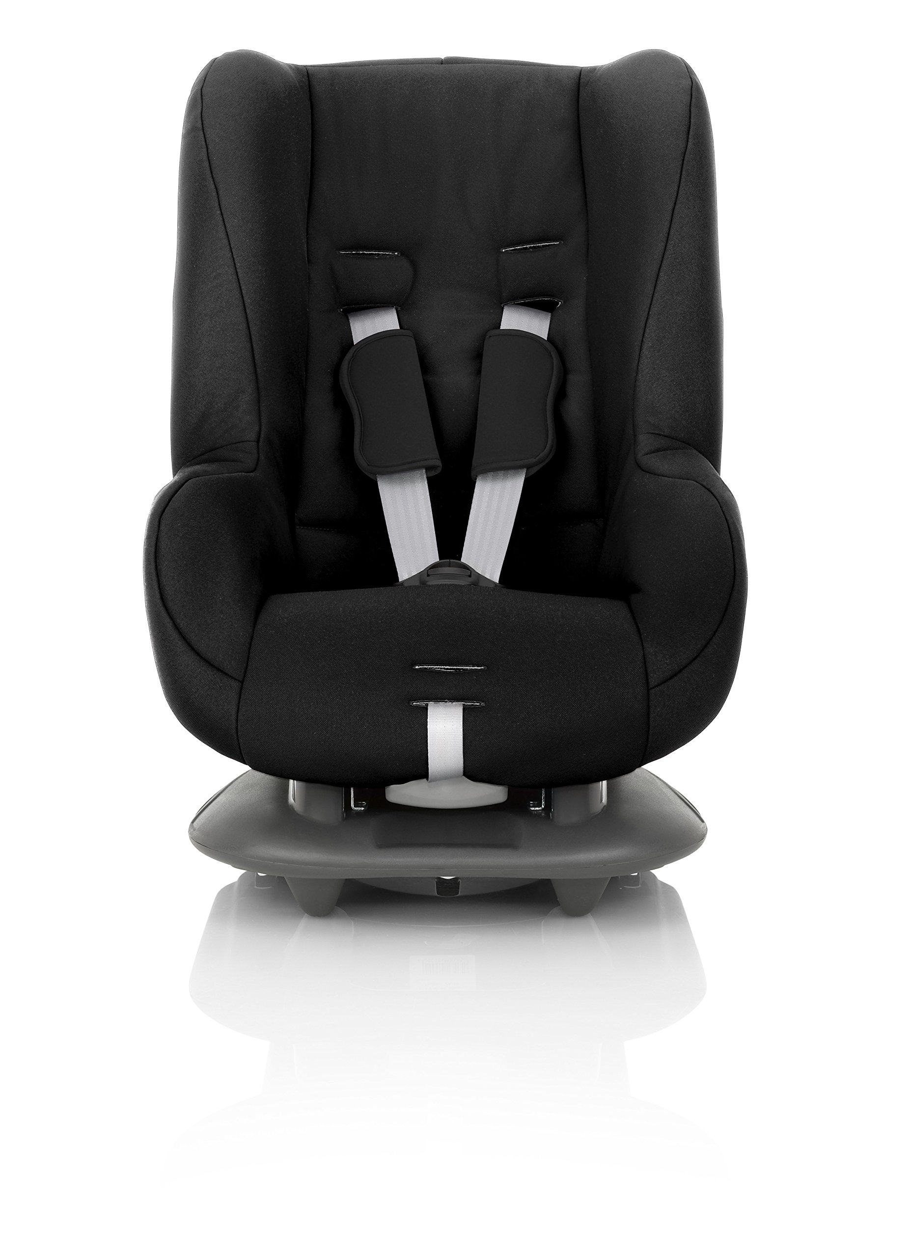 Britax Römer ECLIPSE Group 1 (9-18kg) Car Seat - Cosmos Black Britax Simple installation with a 3-point or 2-point seat belt Superior protection - side impact protection, performance chest pads and pitch control system TUV certified for aircraft travel 3