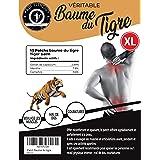 Patch Baume du Tigre Chauffant, Anti Douleur, Anti Inflammatoire, Mal de Dos, Douleurs Musculaires et Articulaires, Courbatur