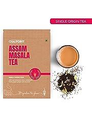 Chai Point Assam Masala Tea 200g (80 Cups) | Natural Spices (Cinnamon, Clove, cardamon, Ginger, Black Pepper), Single Origin Tea