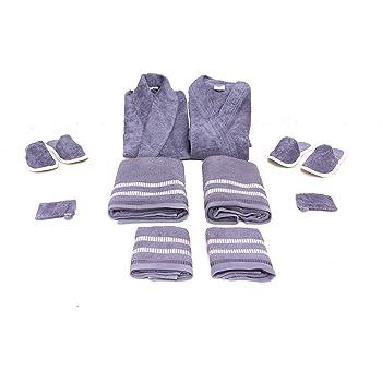 KOYOKA Rock Daniel 10 Pieces Luxury Bathrobe Set (1 Male 3e8d92dbf