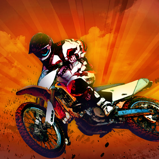 Motocross erregen Speed   Bump Rennen: die verrückte Stunt-Rennen - Gratis-Edition - Abenteuer Motorrad-helm