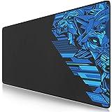 TITANWOLF - XXL Tappetino per Mouse da Gioco - Gaming Mousepad Extra Grande 900 x 400mm - Pad con Base in Gomma Antiscivolo -