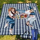 Picknickdecke Strandmatte Picknickdecke 200 x 200 cm Picknickdecke XXL ,Picknickdecke Wasserdicht Outdoor Decke Campingdecke