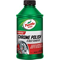 Turtle Wax Liquid Chrome Polish & Rust Remover, 12 Fl Oz
